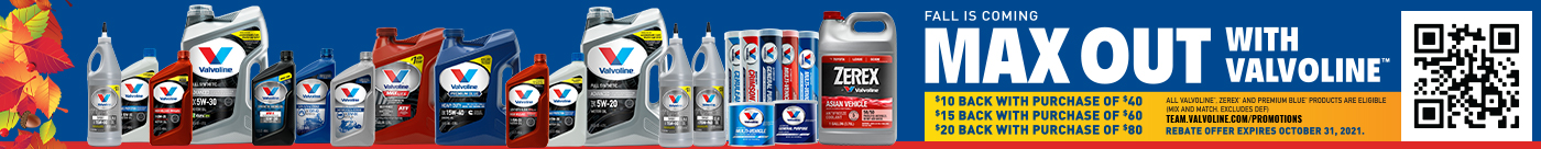 Max Out with Valvoline