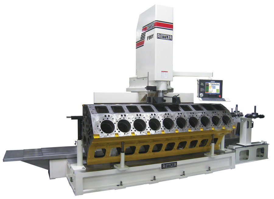 Arnold Motor Supply F99Y Rottler CNC Machine