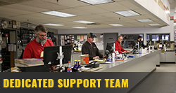 DEDICATED SUPPORT TEAM
