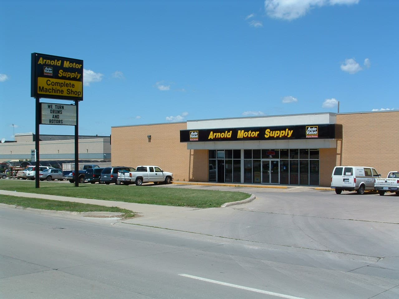 Arnold Motor Supply Marshalltown Iowa Parts Store